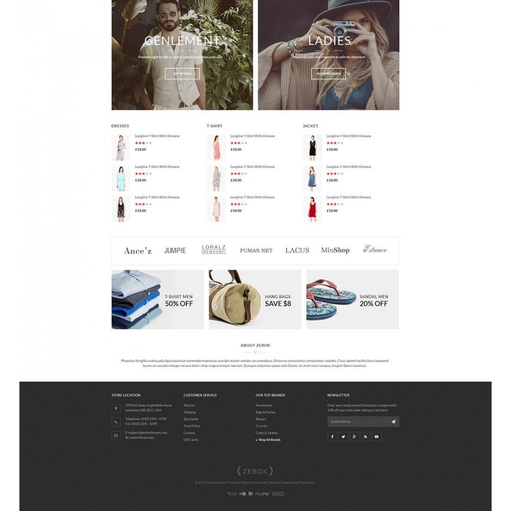 theme - Mode & Schuhe - Zerok - Fashion Store PrestaShop Theme - 4