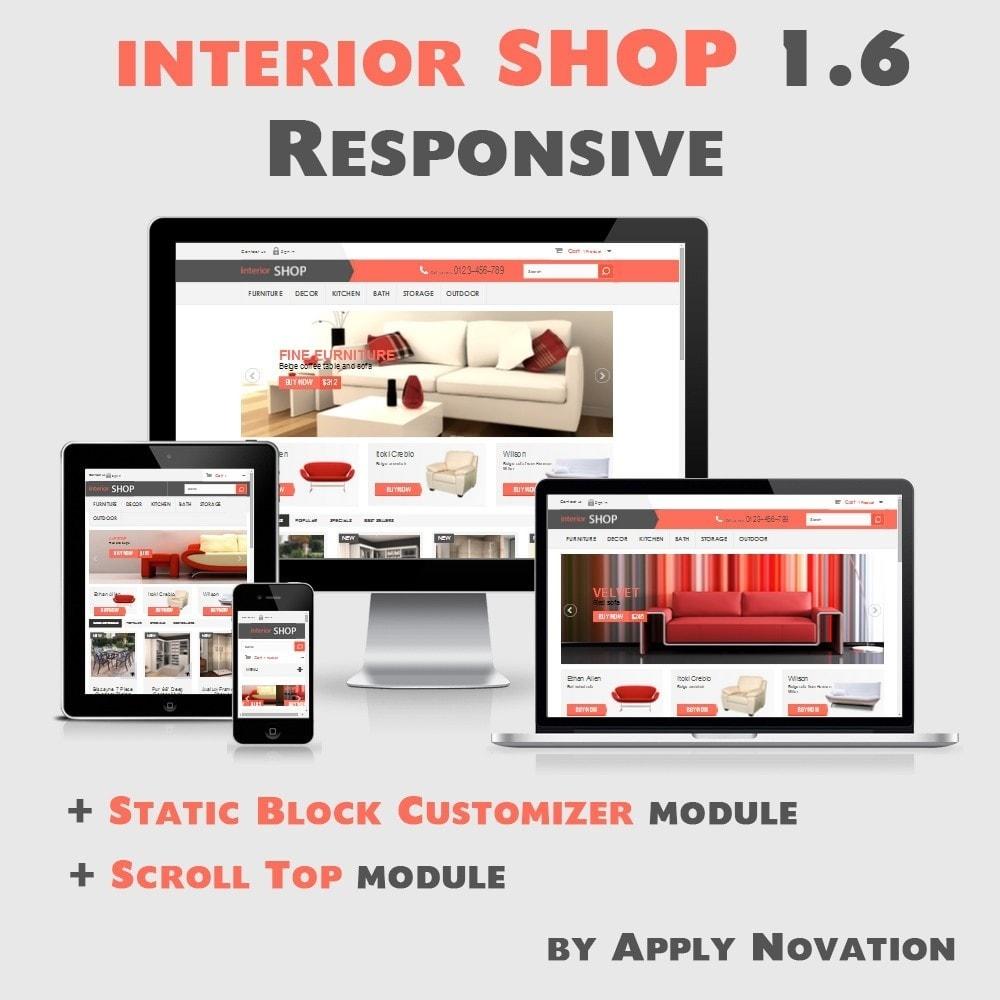theme - Дом и сад - Interior Shop 1.6 Responsive - 1