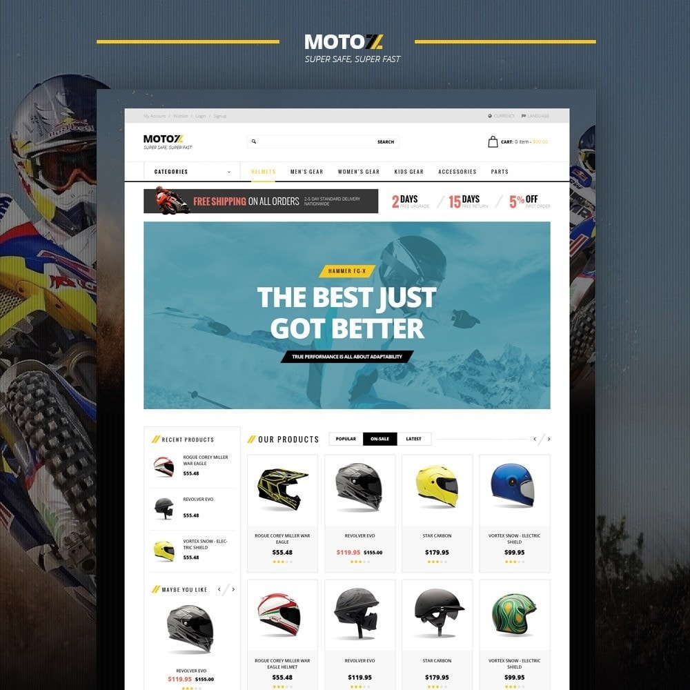 theme - Sports, Activities & Travel - Leo Moto  version 1.6 and 1.7 Theme - 2