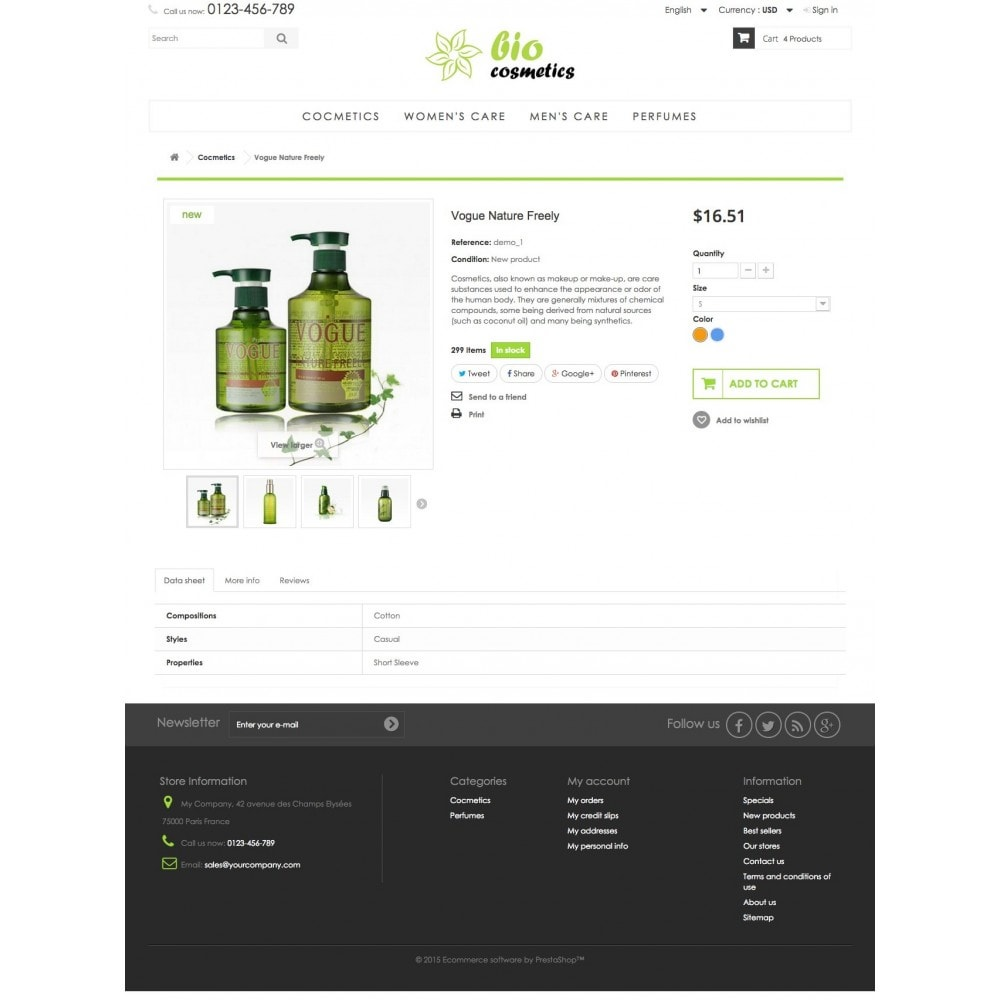 theme - Health & Beauty - GioCosmetics 1.6 Responsive - 7