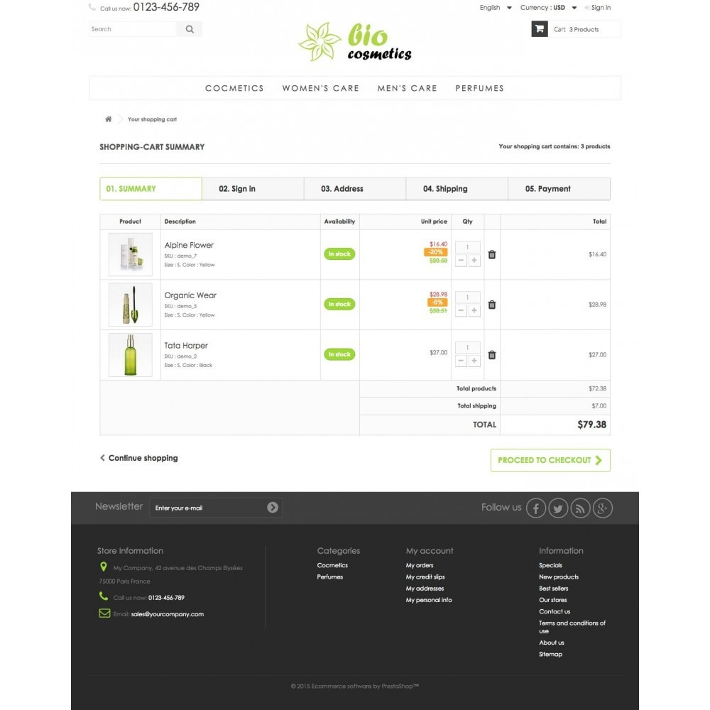 theme - Health & Beauty - GioCosmetics 1.6 Responsive - 8
