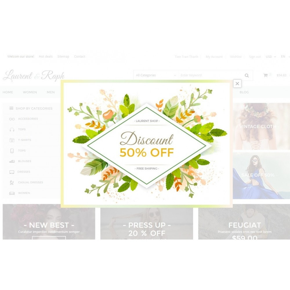 theme - Mode & Schuhe - L&R Fashion Store Responsive PrestaShop Theme - 7