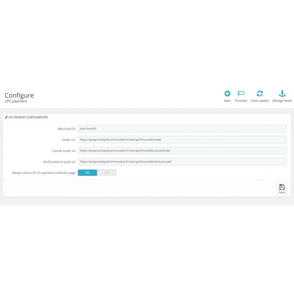 module - Andere Zahlungsmethoden - Payment Le Pot Commun.fr - 2