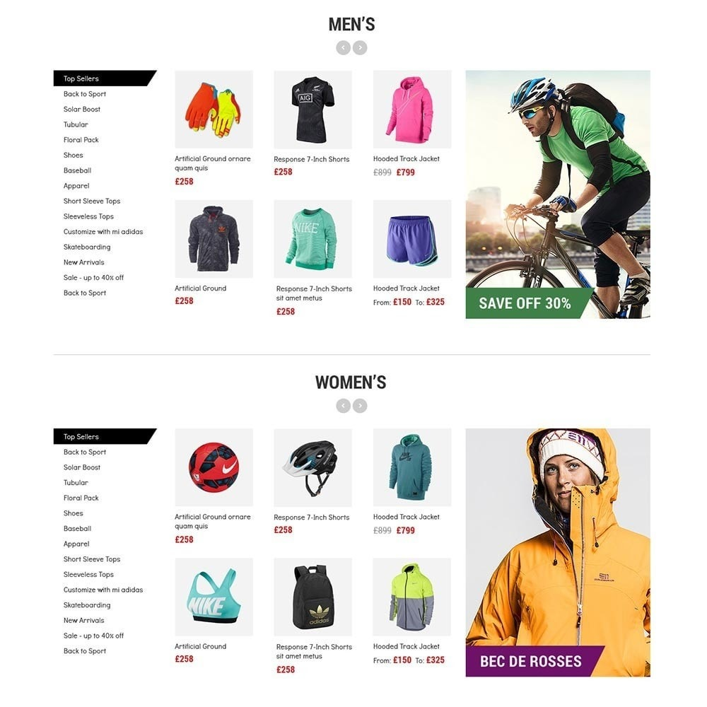 theme - Desporto, Actividades & Viagens - Cr7 - Sport Store - 3