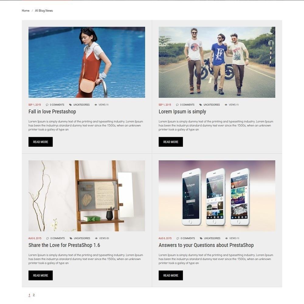 theme - Deportes, Actividades y Viajes - Cr7 - Sport Store PrestaShop Theme - 7