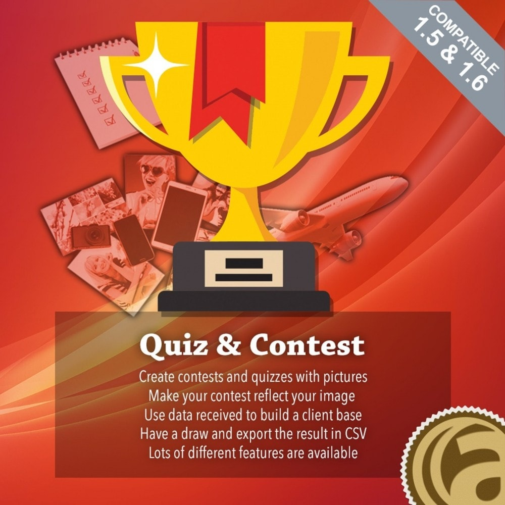 module - Konkursy - Quiz and contests - 1