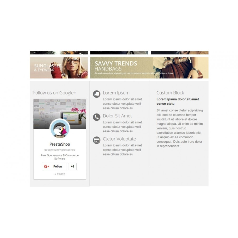 module - Compartilhamento & Comentários - Responsive Google Plus Badge - 4