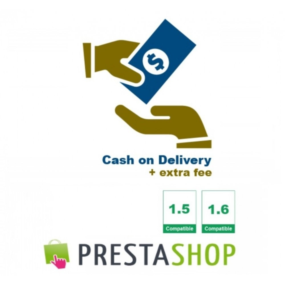 module - Betaling bij Levering - Cash on Delivery + extra fee (CoD) - 1