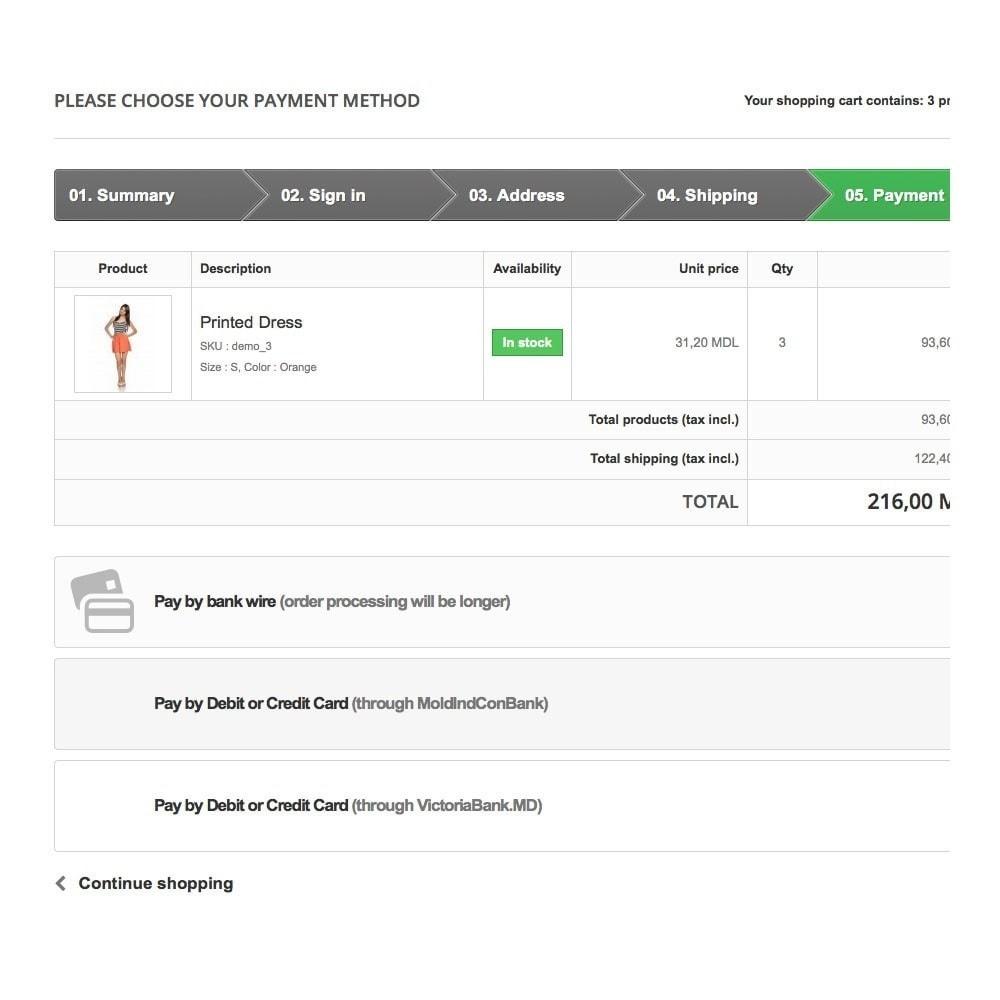 module - Pagamento por cartão ou por carteira - MoldIndConBank Payment Gateway / Credit Card Online - 3