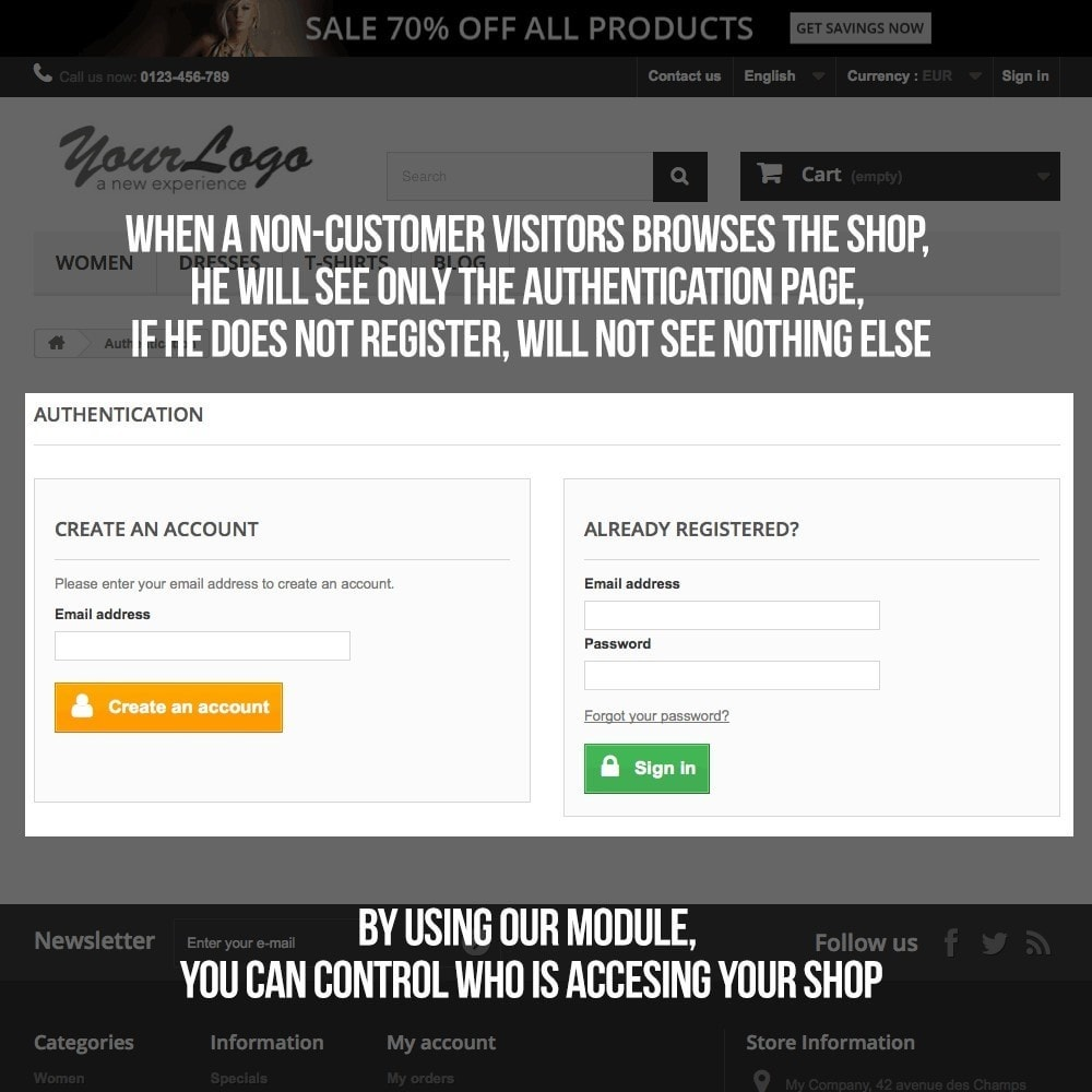module - B2B - Private Shop module for B2B business - 4
