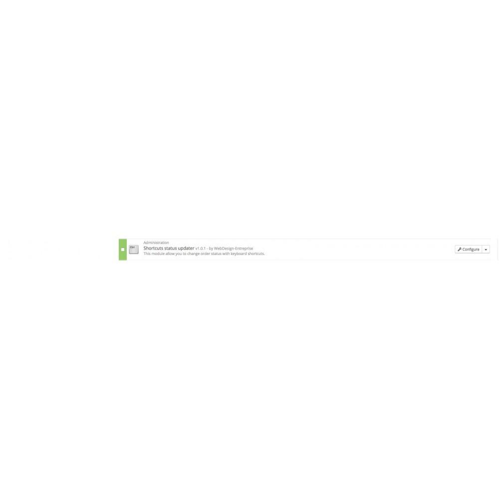 module - Auftragsabwicklung - Shortcuts status updater - 3