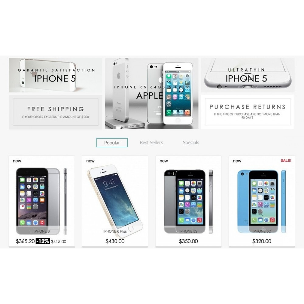 theme - Elettronica & High Tech - Shop Phone 1.6 Responsive - 4