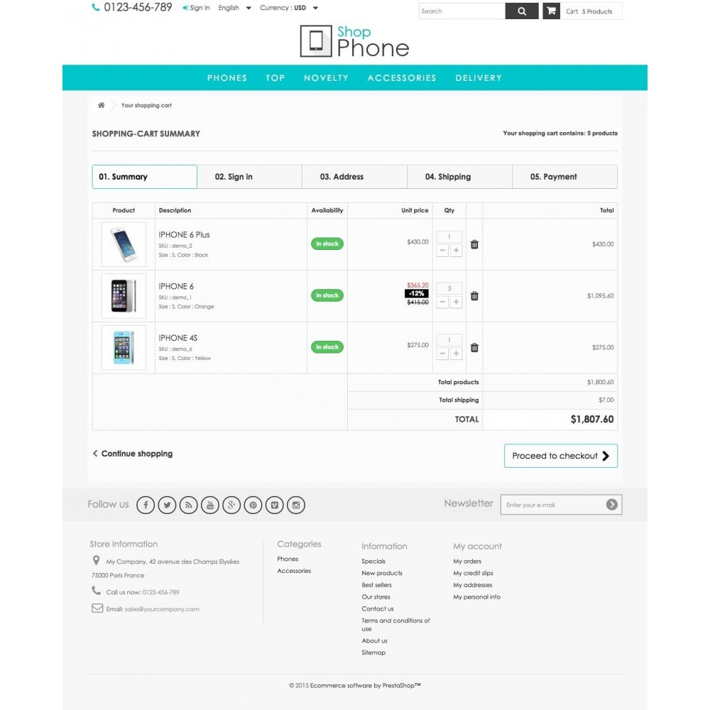 theme - Elektronik & High Tech - Shop Phone 1.6 Responsive - 8