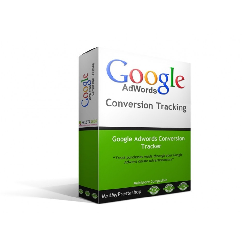 module - Analyses & Statistieken - Google Adwords Conversion Tracker - 1