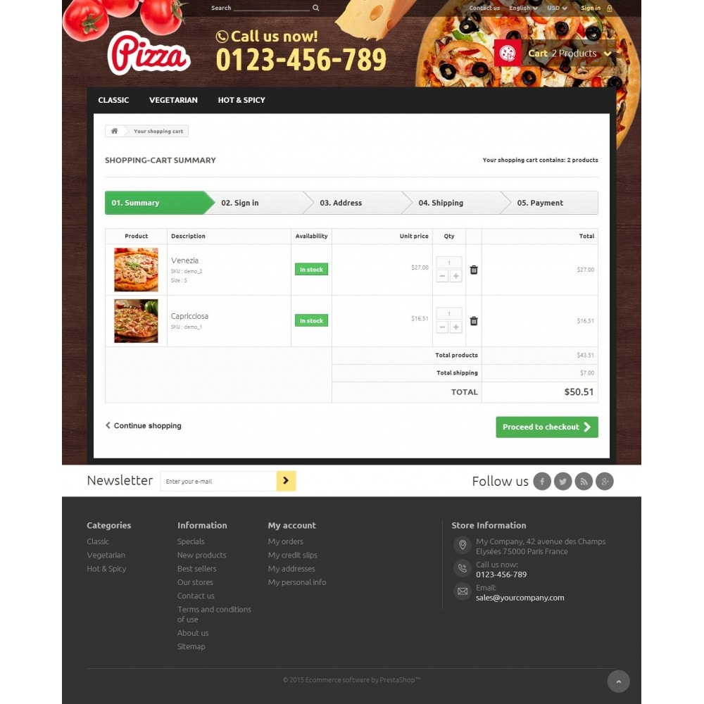 theme - Food & Restaurant - Pizza 1.6 Responsive - 8