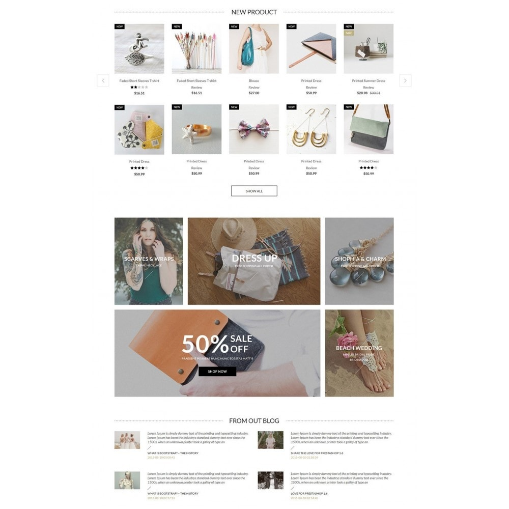 theme - Biżuteria & Akcesoria - Jennifer - Beauty Store PrestaShop Theme - 3