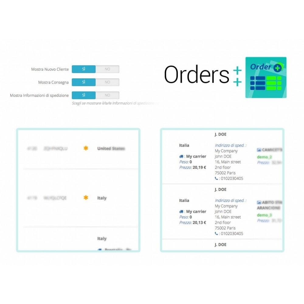 module - Gestione Ordini - Lista ordini avanzata con filtri e funzioni speciali - 8