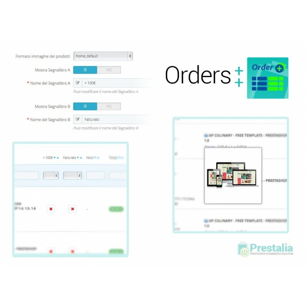 module - Gestión de Pedidos - Advanced Orders List with filters and special features - 4