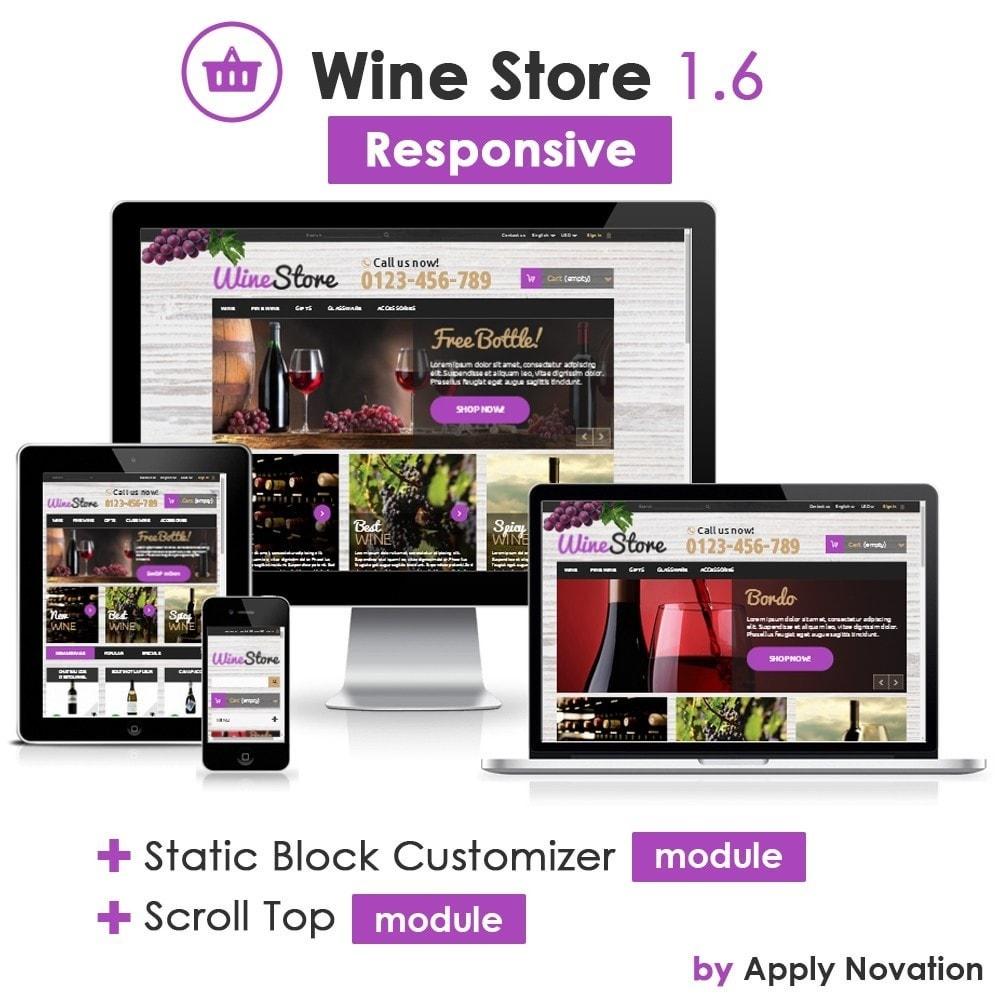 theme - Bebidas y Tabaco - Wine Store - 1