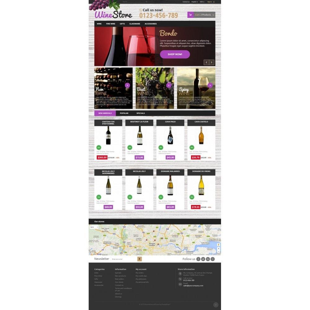 theme - Bebidas y Tabaco - Wine Store - 2