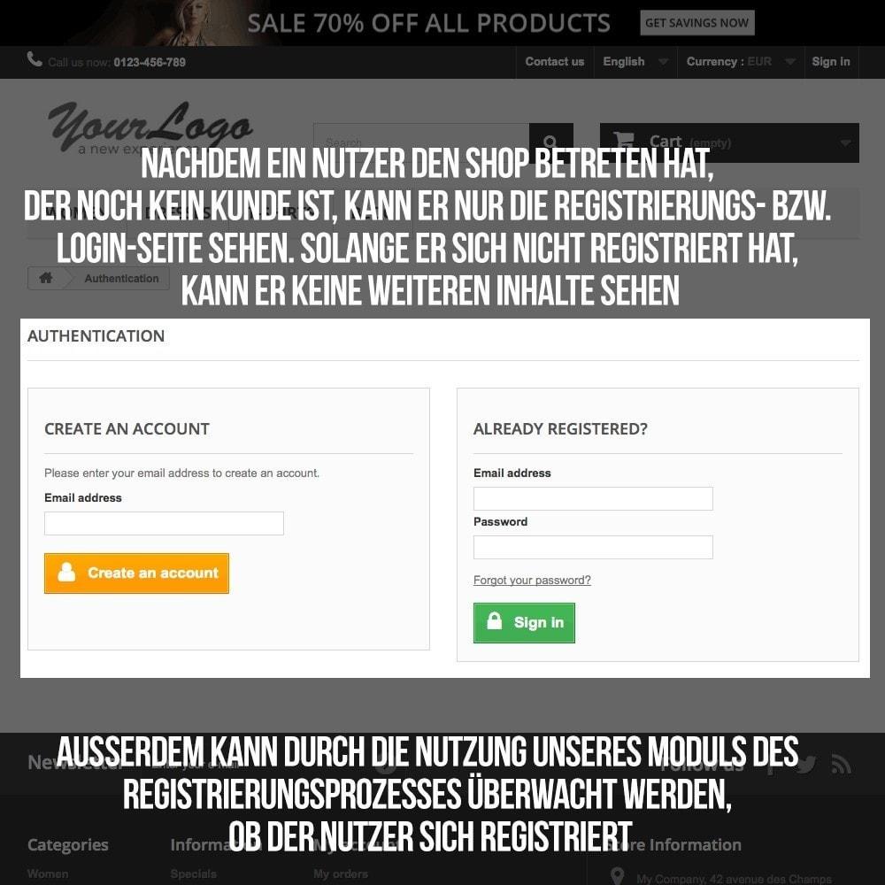 module - B2B - Online-Shop mit speziellem Zugang für B2B Geschäfte - 4