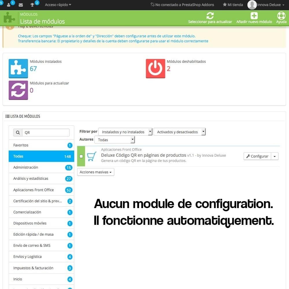 module - Mobile - QR Codes sur la fiche produit (BIDI) - 4