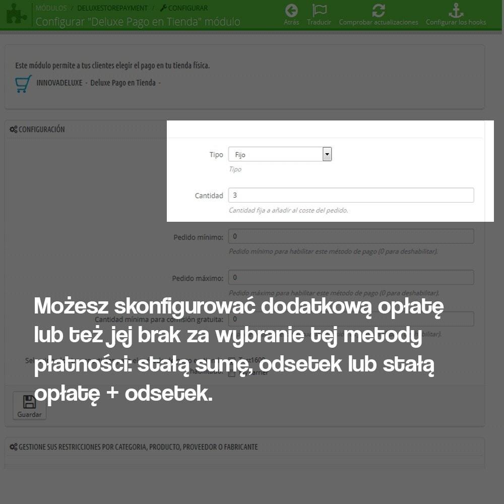 module - Płatność w sklepie - Płatność w sklepie stacjonarnym (z ewentualną dopłatą) - 2