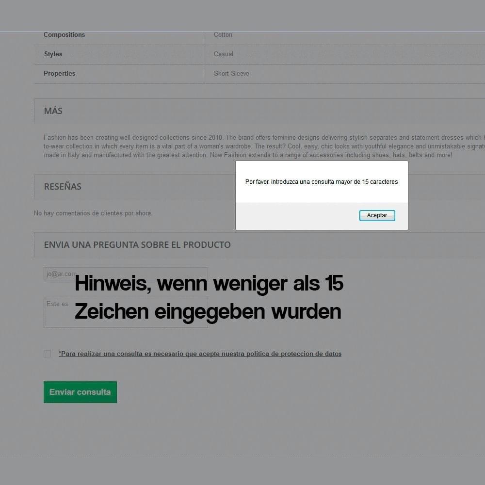 module - Rechtssicherheit - Kontaktformular aus dem Produktblatt - 6