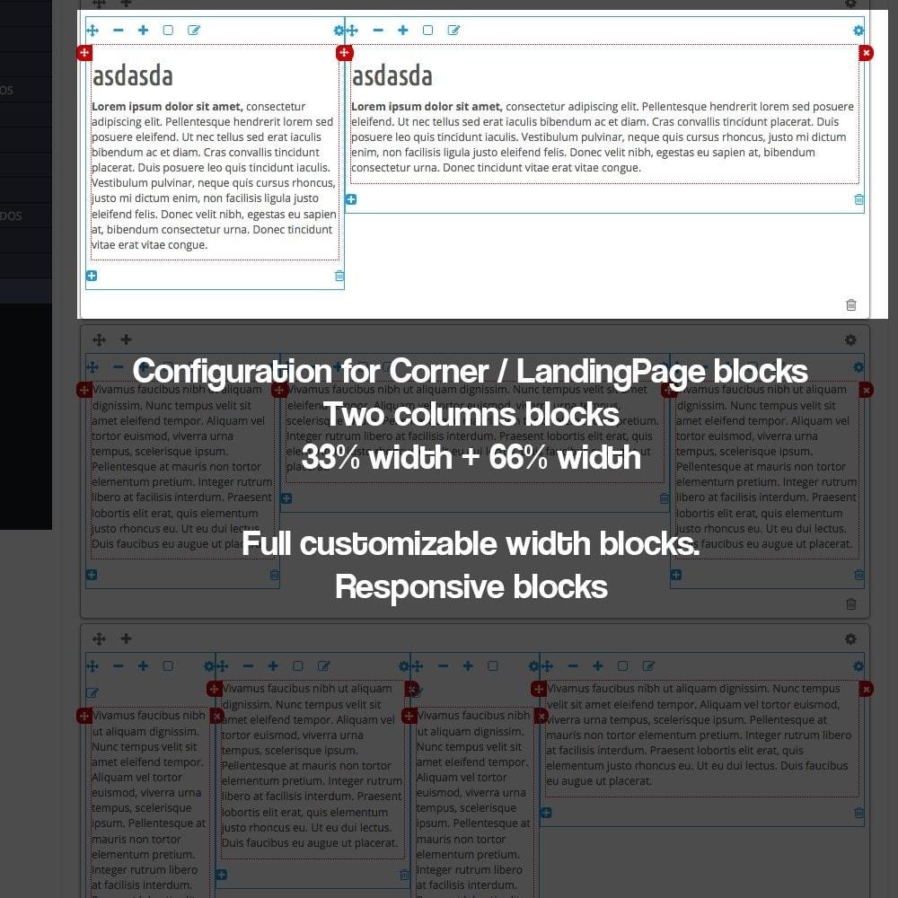 module - SEO - Landing pages, cornes or microsites creator - 14