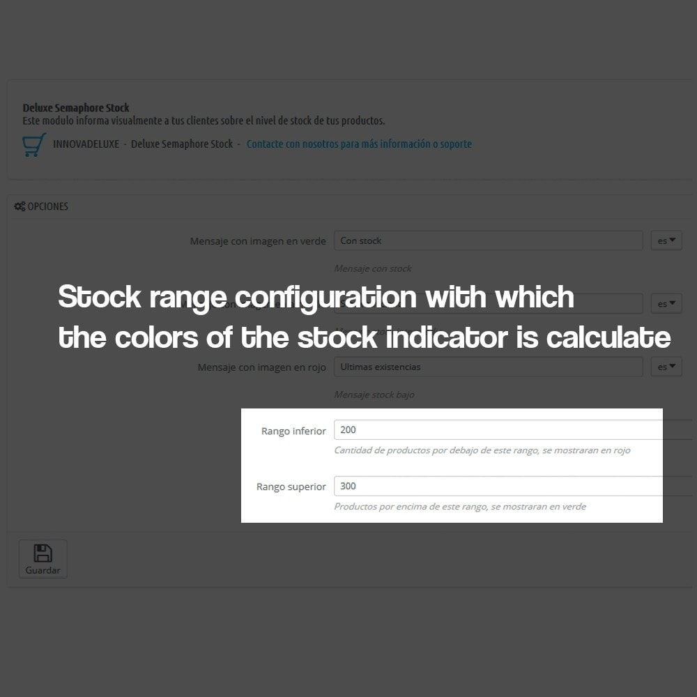 module - Additional Information & Product Tab - Indicator of stock available in product page - 8