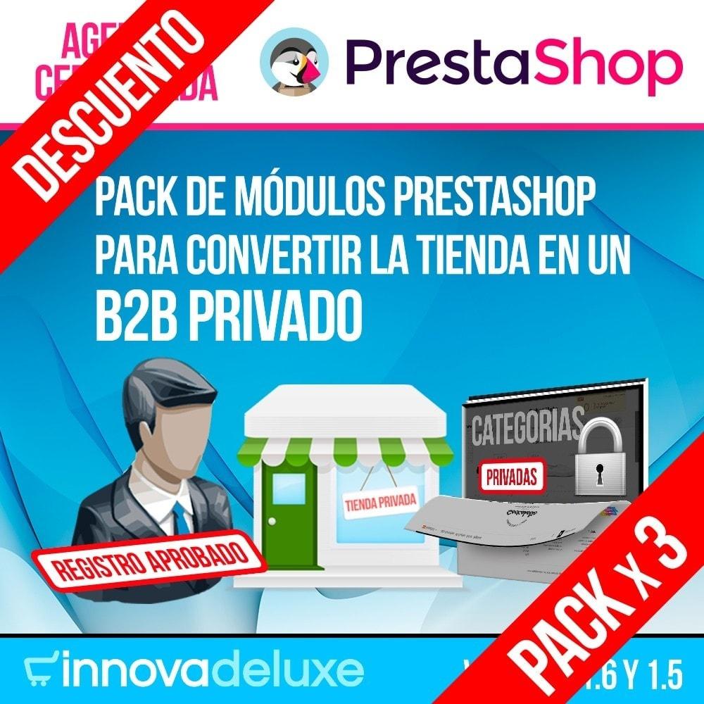 pack - B2B - Pack 1 - Módulos B2B (privatización para profesionales) - 1