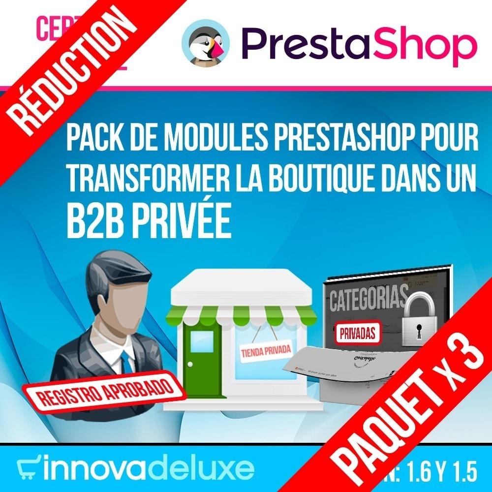 pack - B2B - Pack 1 - Boutique B2B privatisation pour professionnels - 1