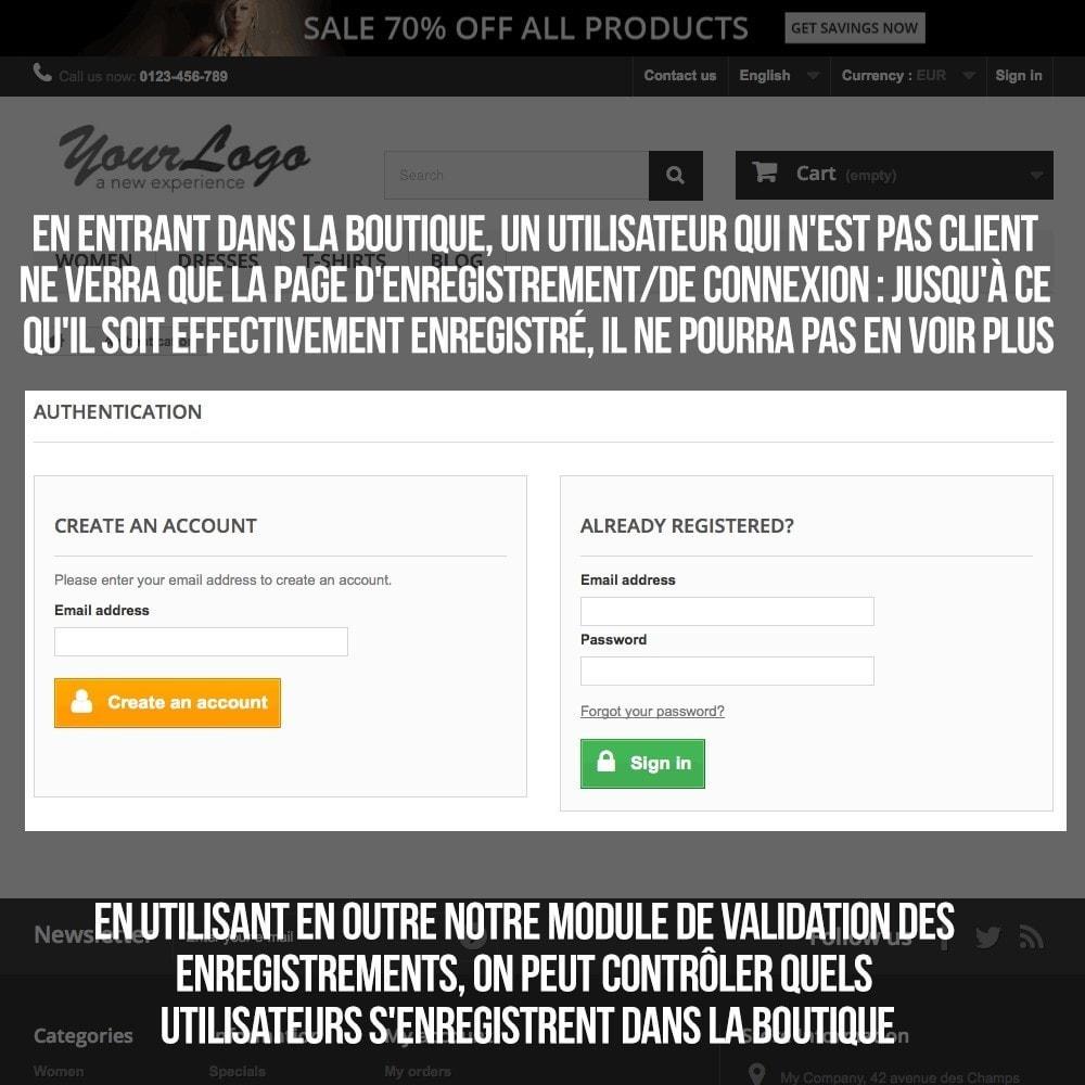 pack - B2B - Pack 1 - Boutique B2B privatisation pour professionnels - 11