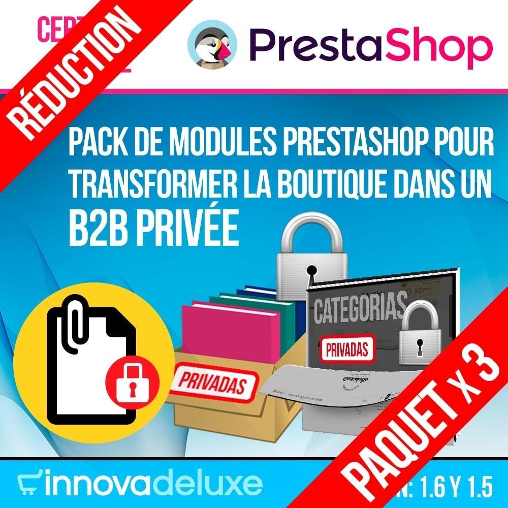 pack - B2B - Pack 2 - Boutique B2B privatisation pour professionnels - 1