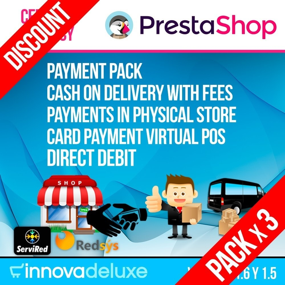 pack - Current offers – Make great savings! - Pack 3 - essential payment modules - 1