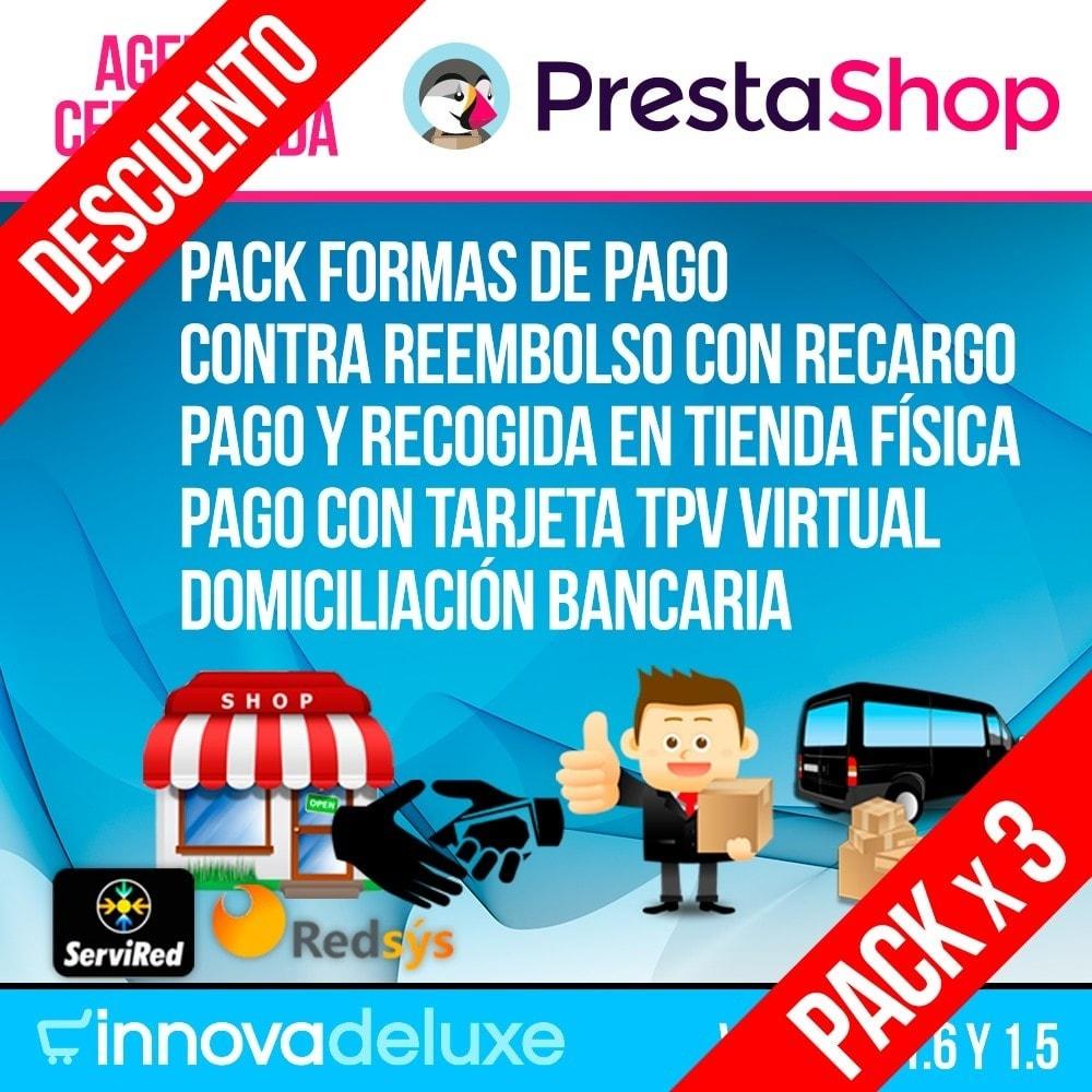 pack - Nuestras ofertas actuales - ¡Aprovecha y ahorra! - Pack 3 - formas de pago esenciales - 1