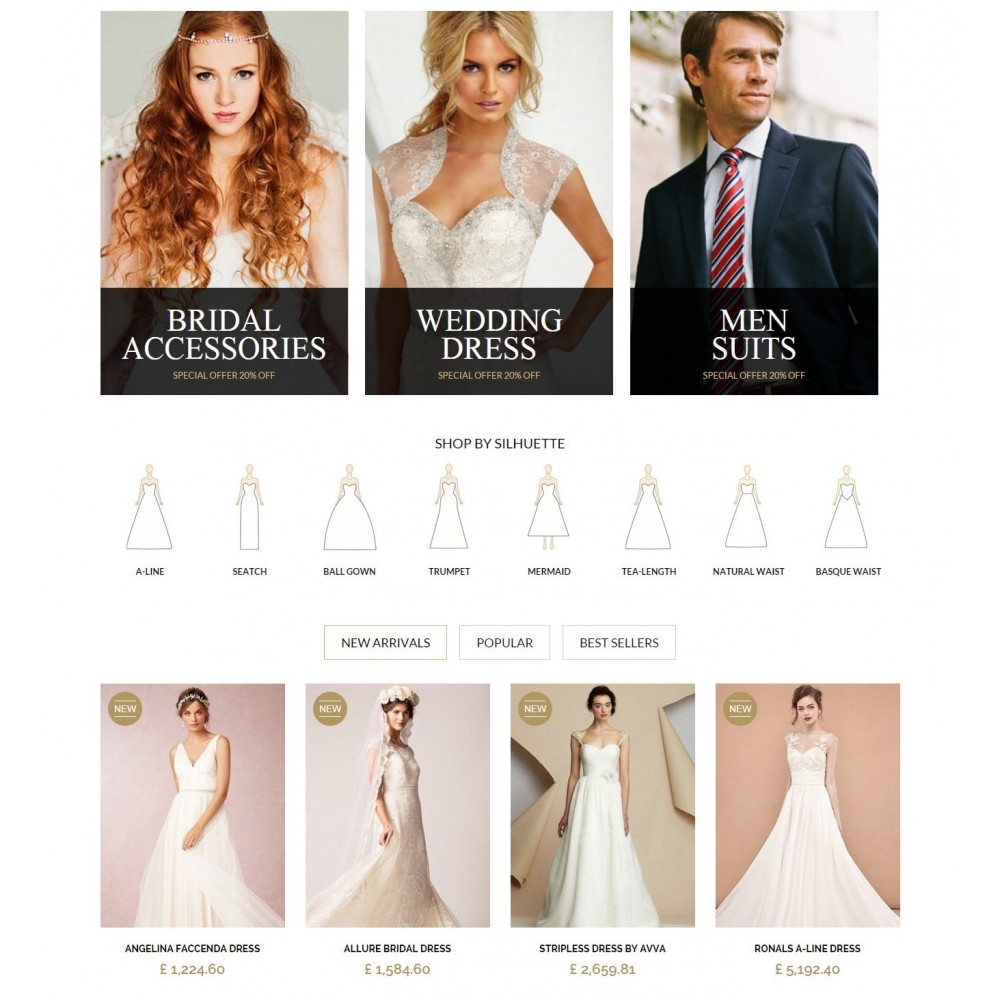 theme - Moda & Calzature - WEDDING STORE 1.6 Responsive Template - 3