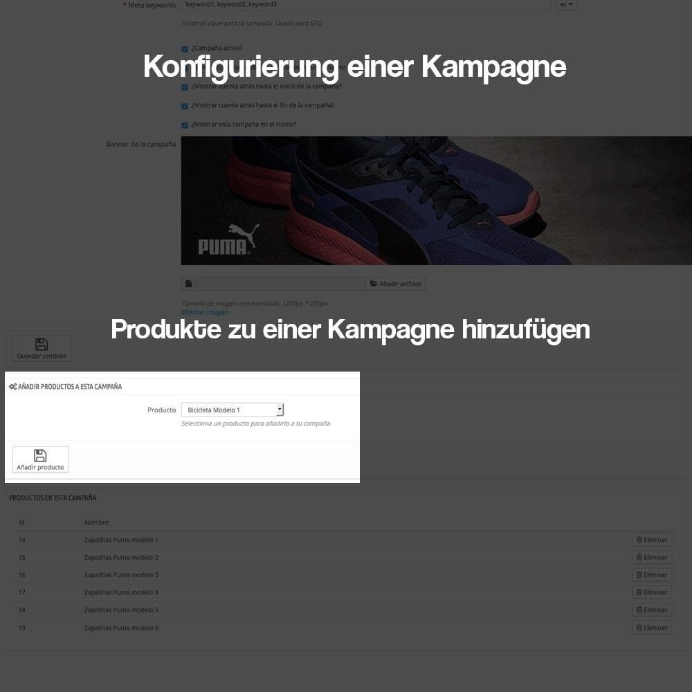 module - Promotion & Geschenke - Verwaltung von Kampagnen (Saisonale Vorschau, Looks) - 10