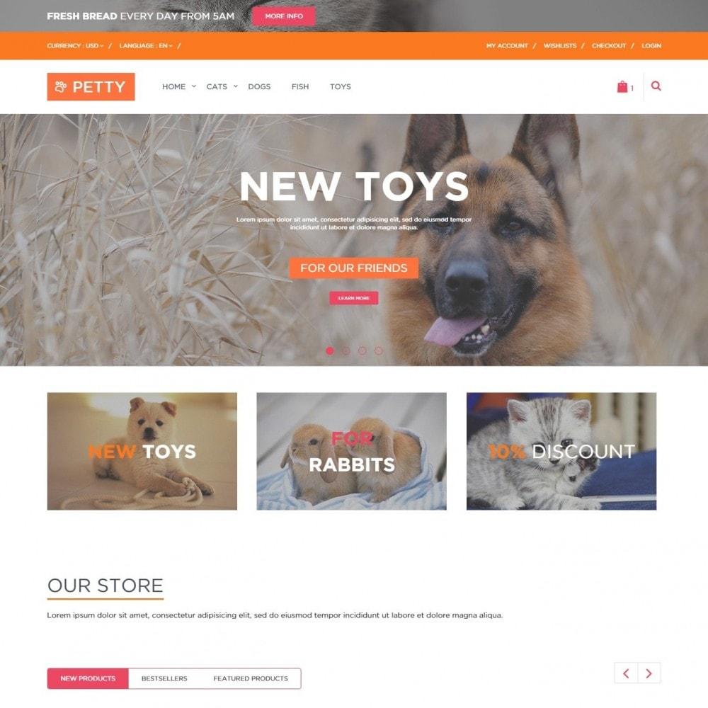 theme - Животные и домашние питомцы - Pets – Тема для Магазина Животных - 2