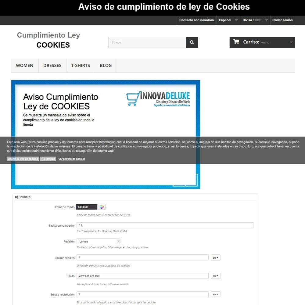 pack - Marco Legal (Ley Europea) - Pack 4 - Cumplimiento normativas legales LOPD, Cookies - 19