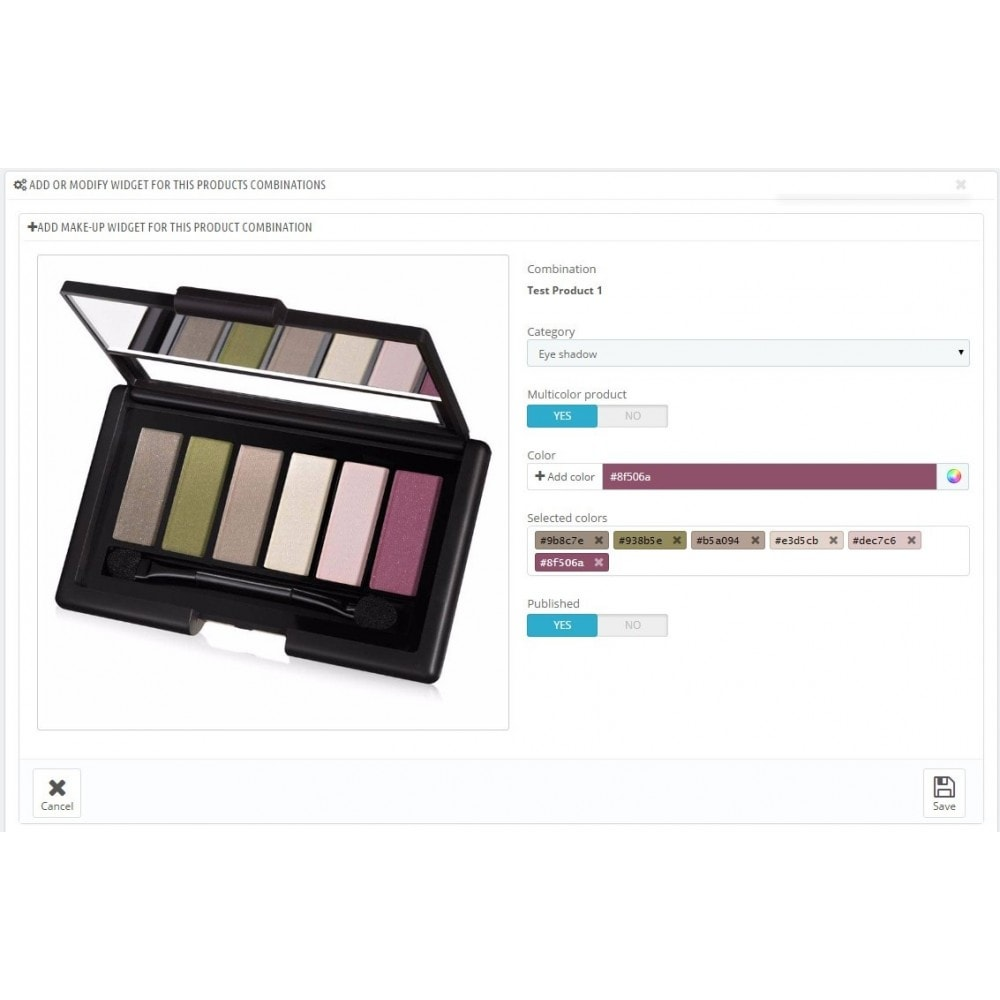 module - Produits virtuels (téléchargeables) - Magic Mirror: Makeup, Optics & Fashion - 9