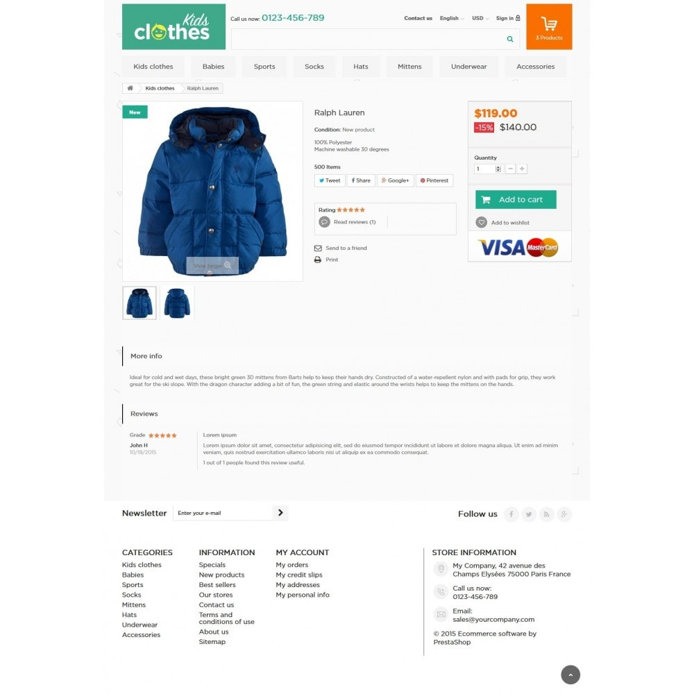theme - Kids & Toys - Kids Clothes 1.6 Responsive - 7