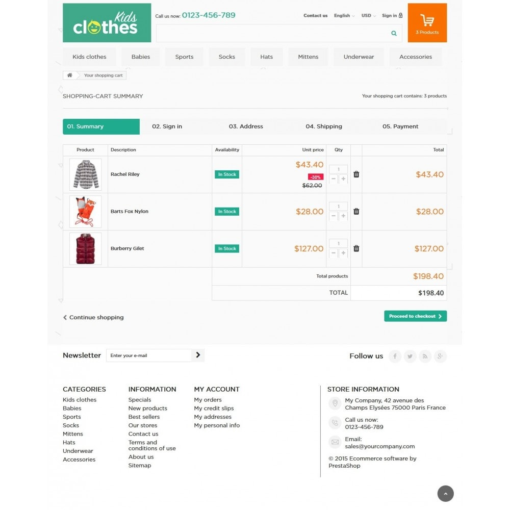 theme - Kids & Toys - Kids Clothes 1.6 Responsive - 8