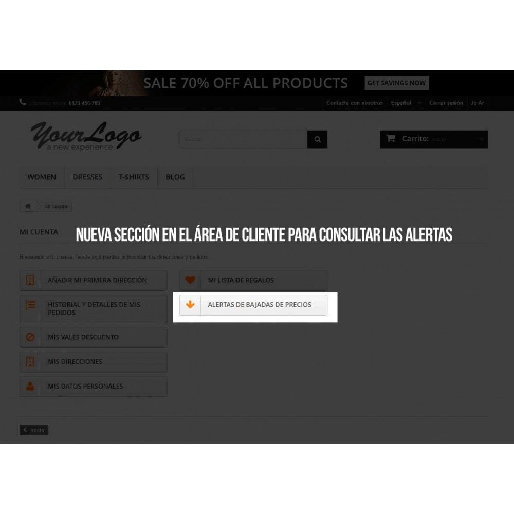 module - E-mails y Notificaciones - Alerta para suscripción a bajadas de precio - 5