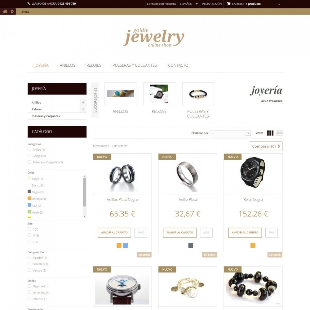 theme - Ювелирные изделия и Аксессуары - Goldie Jewelry - 3
