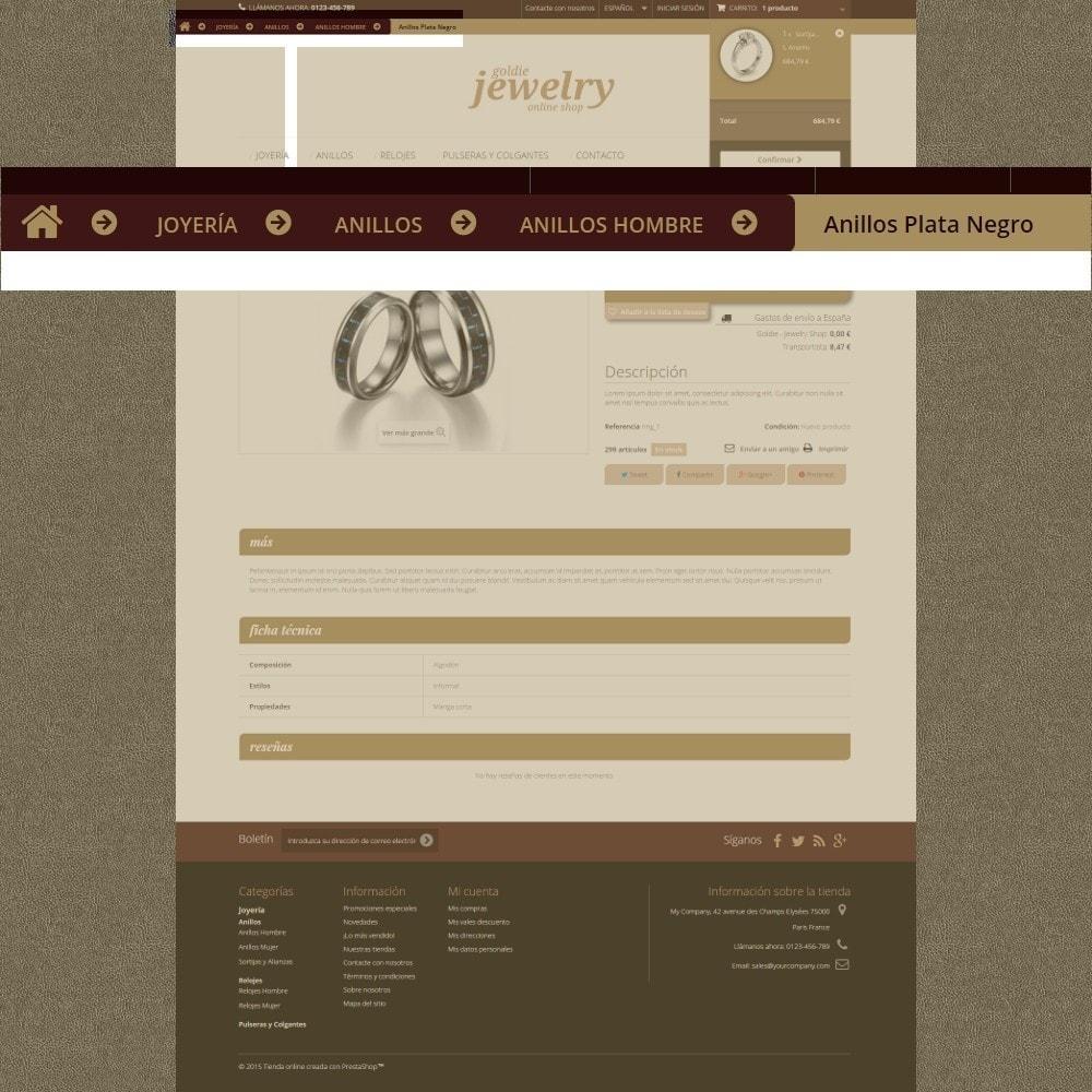 theme - Ювелирные изделия и Аксессуары - Goldie Jewelry - 5