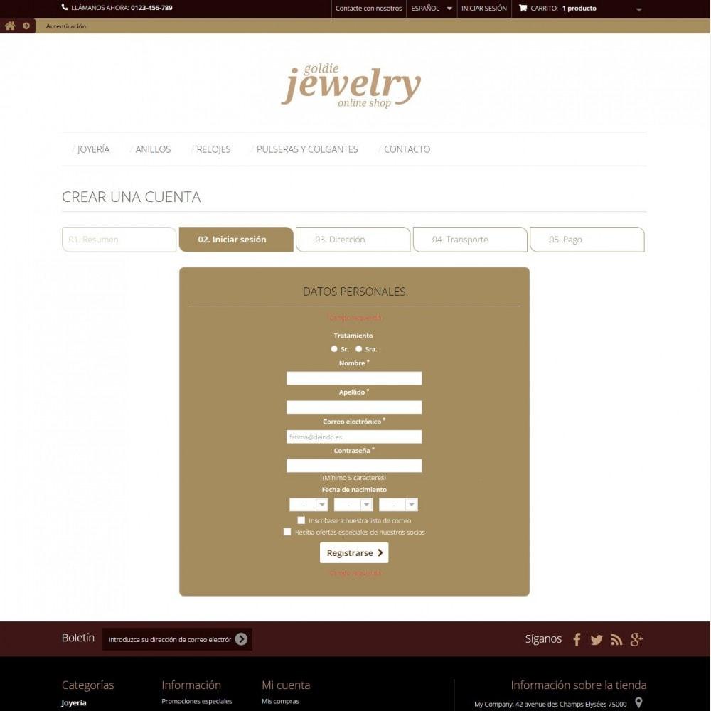 theme - Ювелирные изделия и Аксессуары - Goldie Jewelry - 7