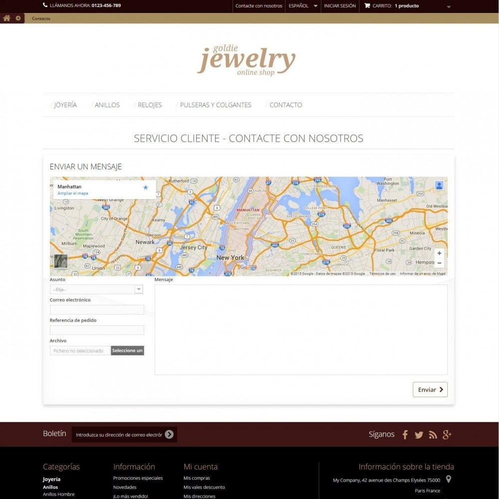 theme - Ювелирные изделия и Аксессуары - Goldie Jewelry - 8