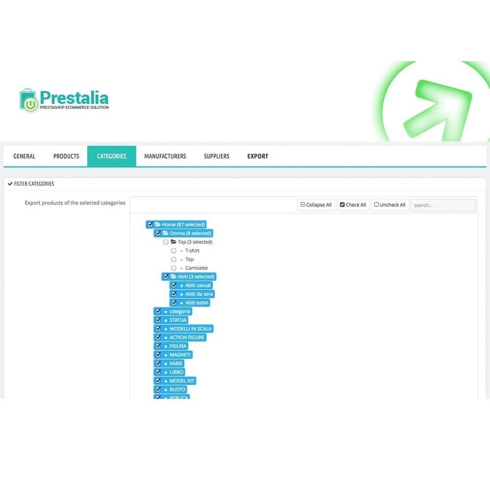 module - Importación y Exportación de datos - Exportación Trovaprezzi con filtros avanzados - 5
