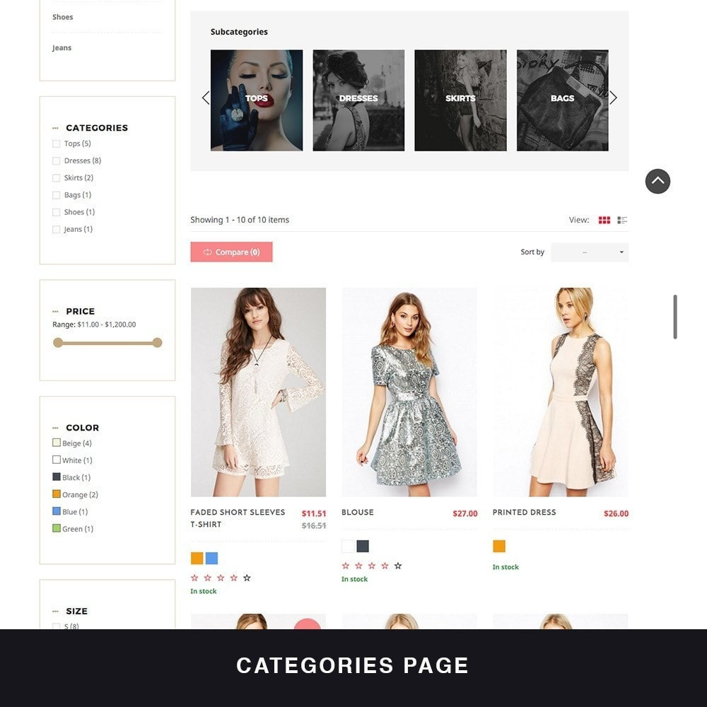 theme - Fashion & Shoes - MyShopping Fashion Responsive - 3